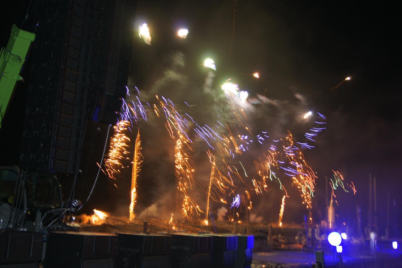 feu d'artifice 15 Aout 2010