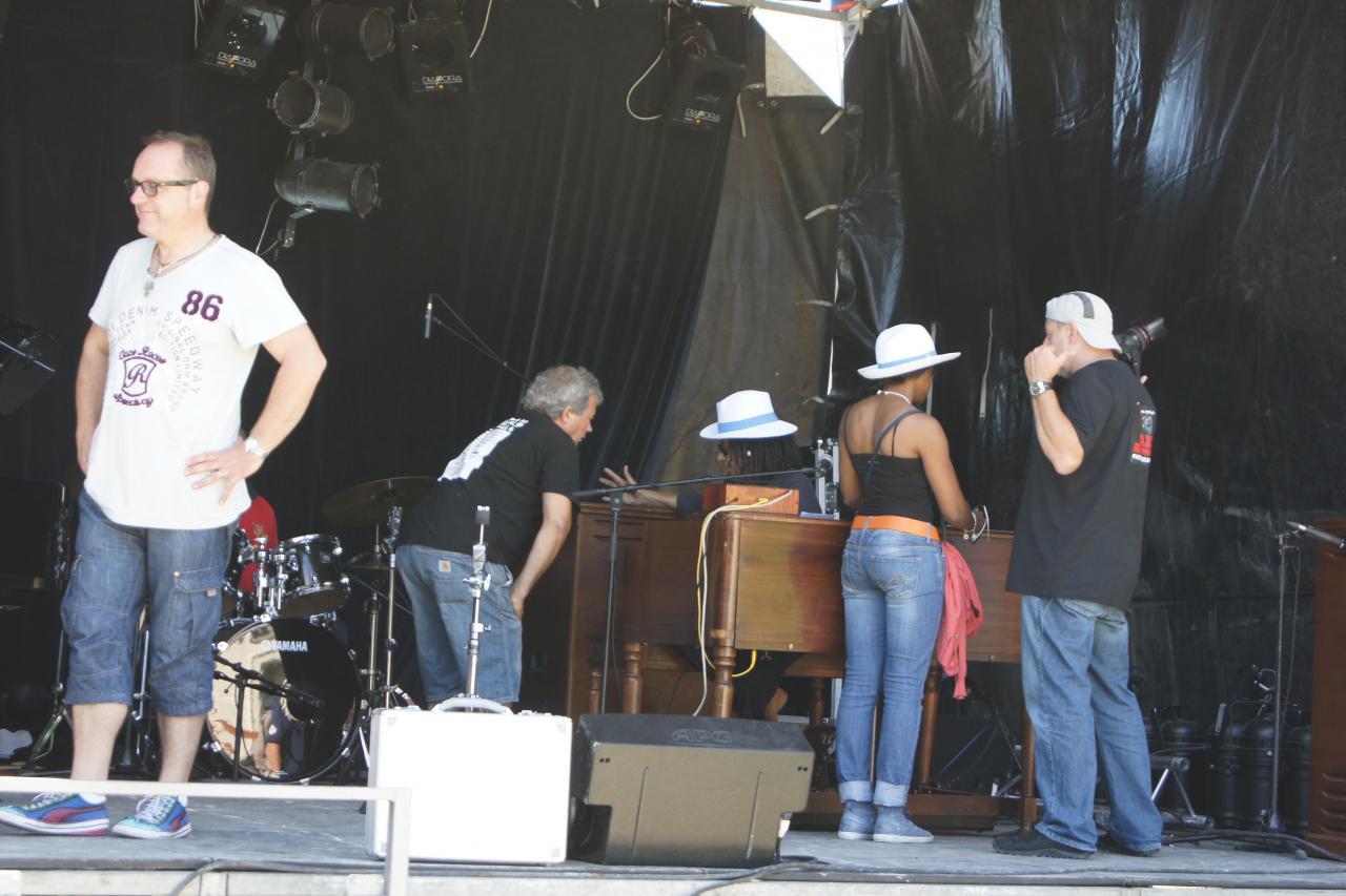 2011 avec RHODA SCOTT et LA VELLE (en balances)