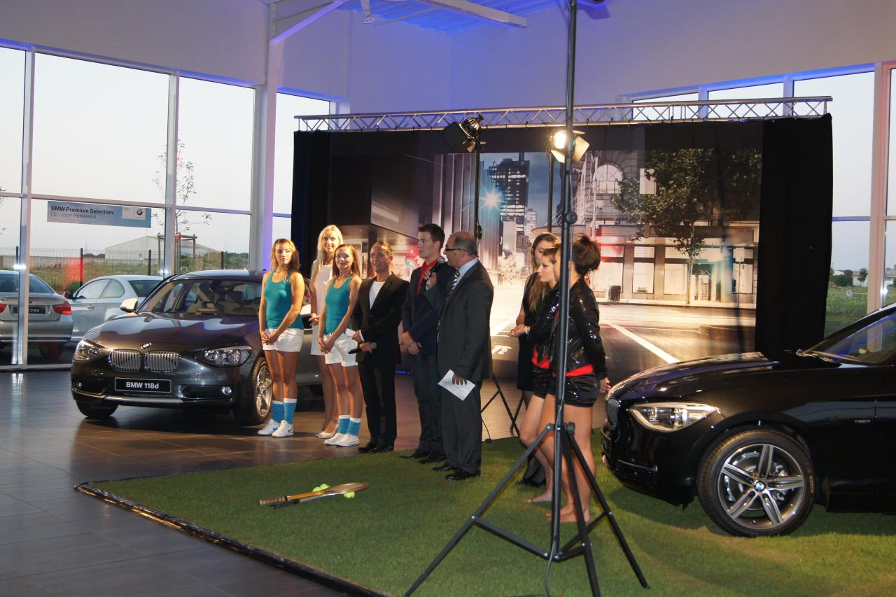 INAUGURATION NOUVELLE BMW 2011