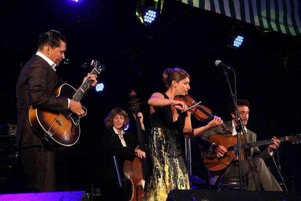 2010 avec AURORE VOILQUE Quartet
