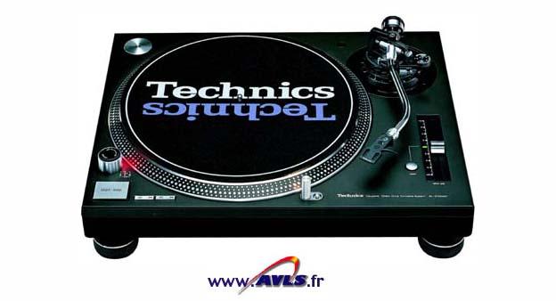 Platines disques technics SL1200 MKII