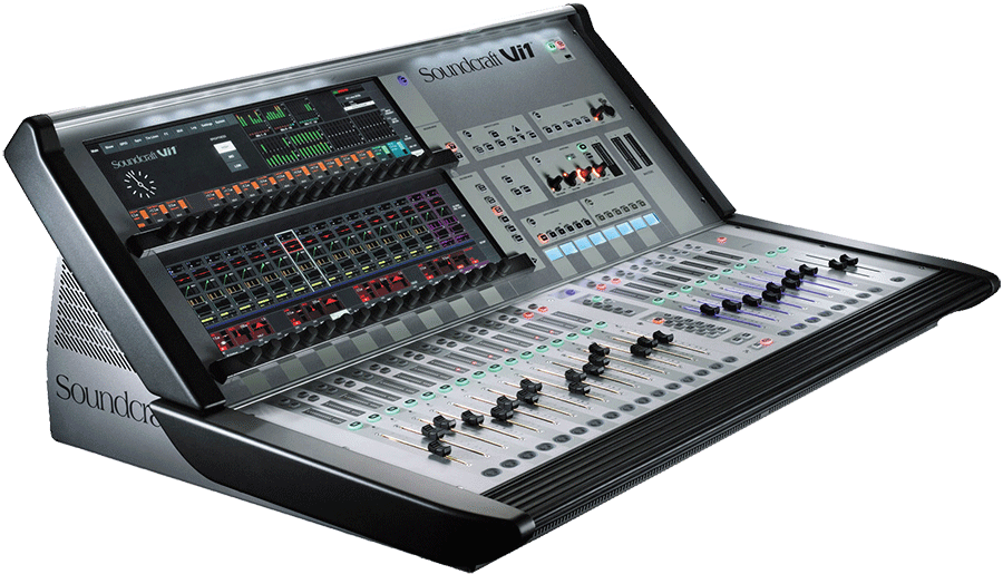 location console soundcraft