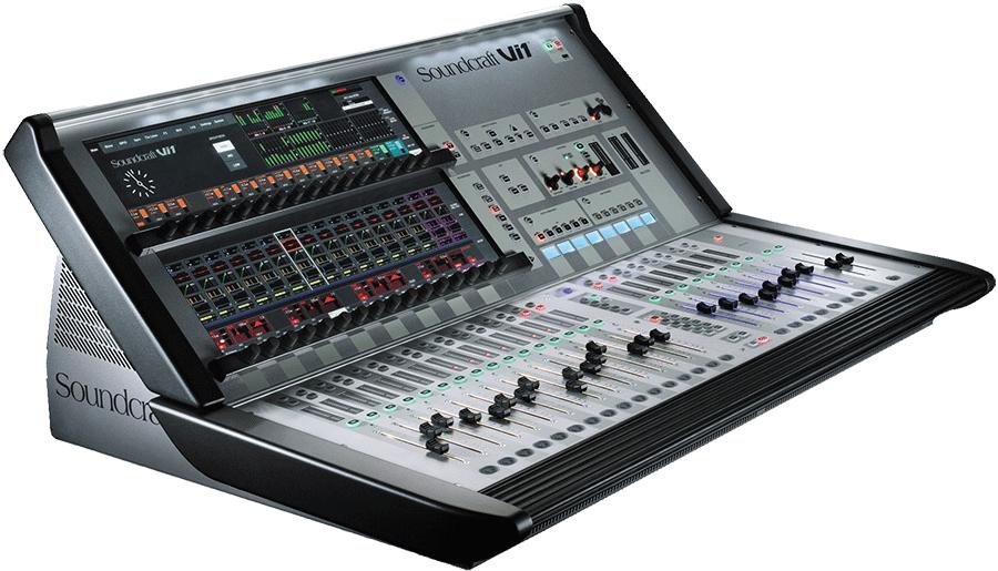 Sonorisation la rochelle consoles num riques ou analogiques chez alpha audio - Console de mixage numerique ...