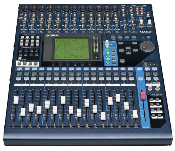 location console de mixage