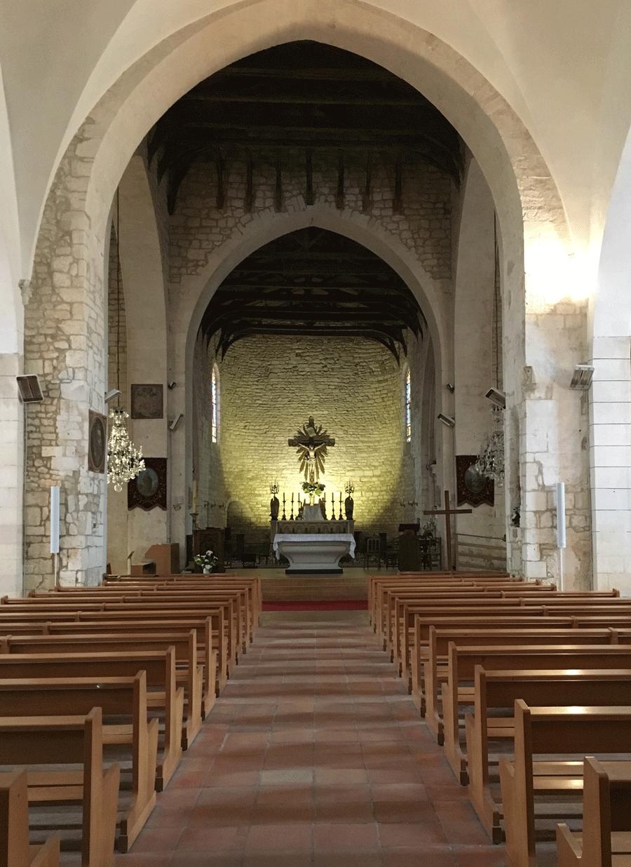 Eglise st pierre d ole ron