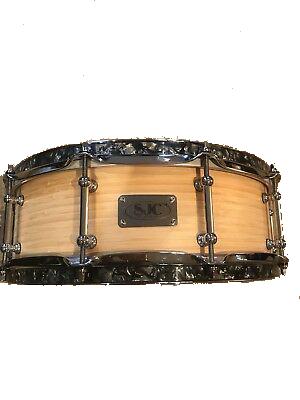 Sjc 14x5 bamboo snare drum