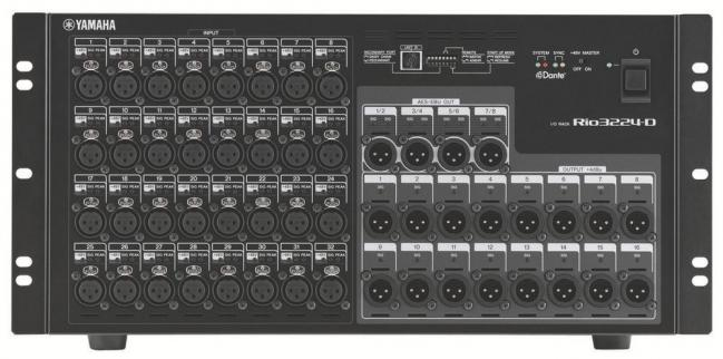 Yamaha rio3224d stage box